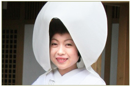 かつら(文金高島田)