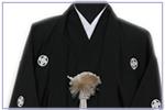 黒紋付羽織&袴