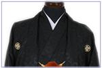 黒紋付袴(金)