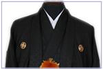 黒紋付袴(武田菱)
