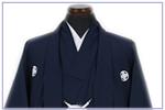 濃紺-紺紋付袴